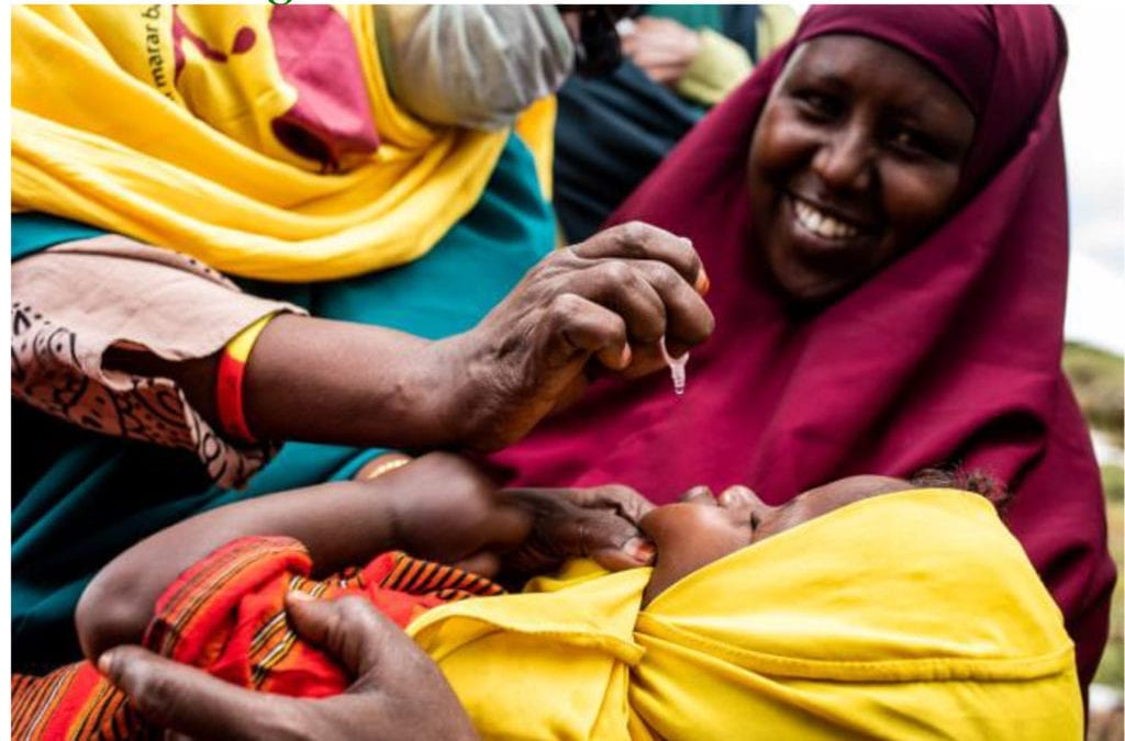 Immunizers in Somalia conducted integrated vaccinations