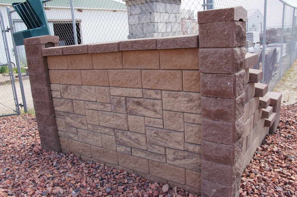 Wall with Caps